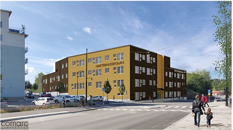 Nya Nakterhusskolan i Vega Haninge kommun